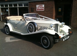 Vintage Beauford for weddings in London